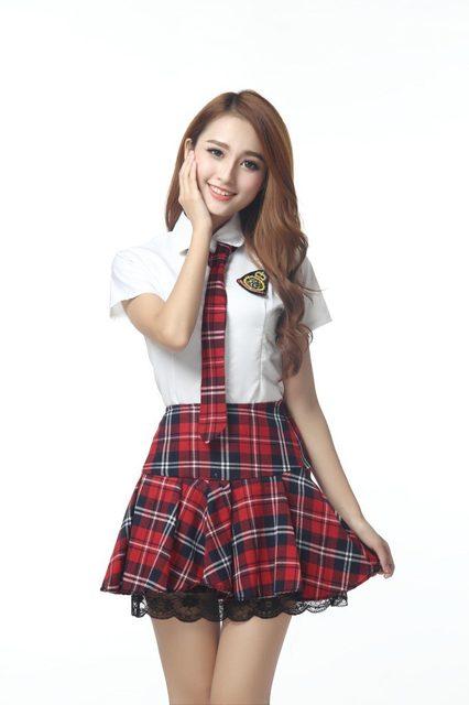Muito Japonês/Coreano Uniformes Escolares Marinheiro Da Menina Bonito  HI53