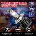 V16  LED H1 H3 H4 H7 H11 9005 9006 Headlight Kit 6000K 40W 4000LM/bulb Fog Lamp Waterproof IP68 Built-in small fan