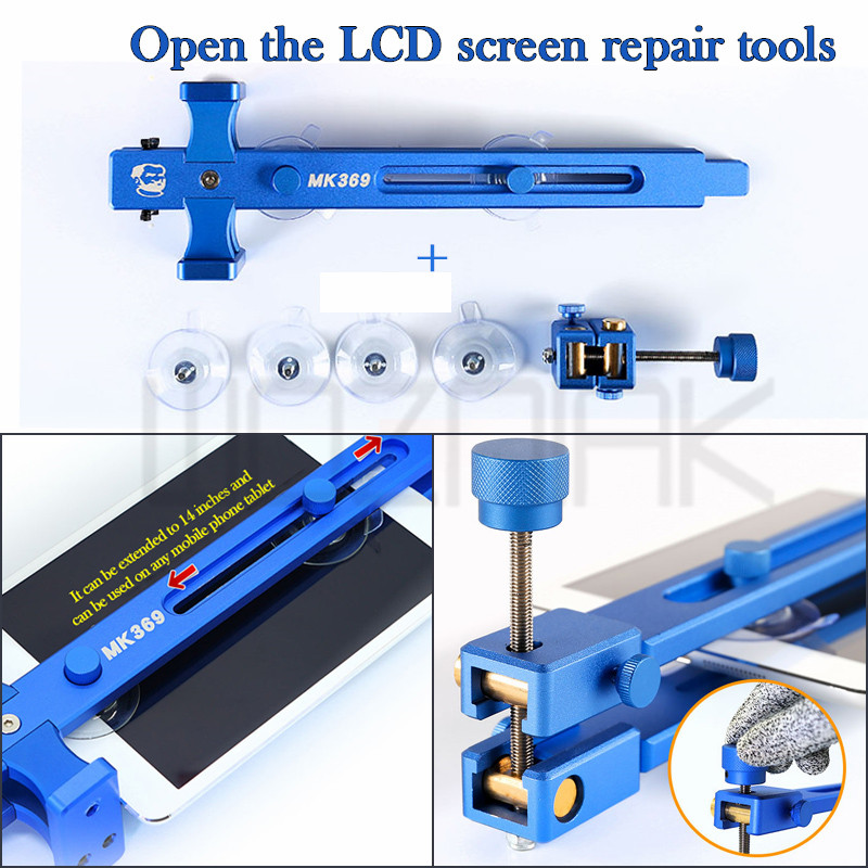 Universal LCD screen repair tools Disassembly change the screen For all mobile phone tablet LCD screen Separating Fixture 2016 new mobile phone repair equipment ly 668 lcd separating preheater helper 220v 110v lcd screen pre heater 350w
