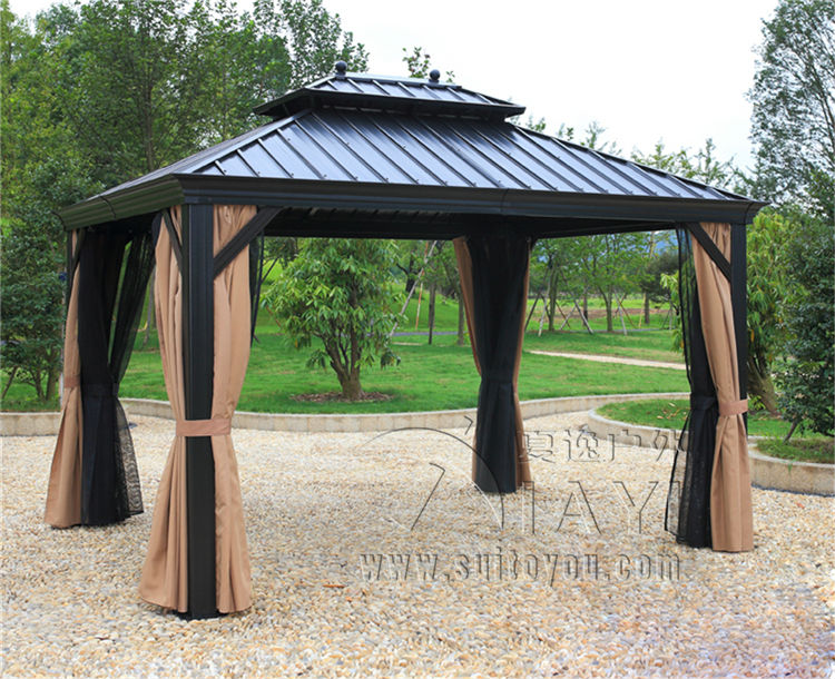 3*3.6 Meter Deluxe High Quality Metal Canopy Sunjoy