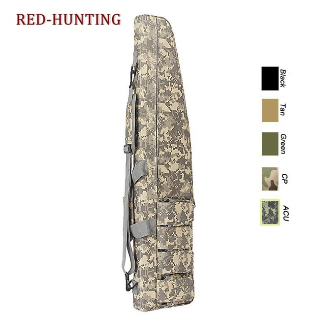47'' 120cm/70cm/95cm Tactical Gun Bag Heavy Duty Rifle Shotgun Carry Case Bag Shoulder Bag for Outdoor Hunting 6