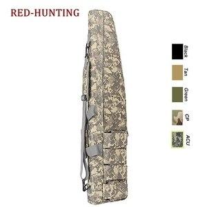 Image 5 - 47 120cm/70cm/95cm sac de pistolet tactique robuste fusil de chasse sac de transport sac à bandoulière pour la chasse en plein air