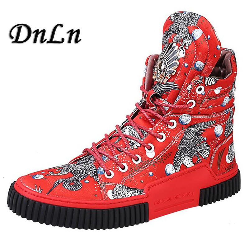 2019 New Arrival Men Fashion Top High Sneakers Luxury Casual Shoes Men Boots Fashion Spring Autumn