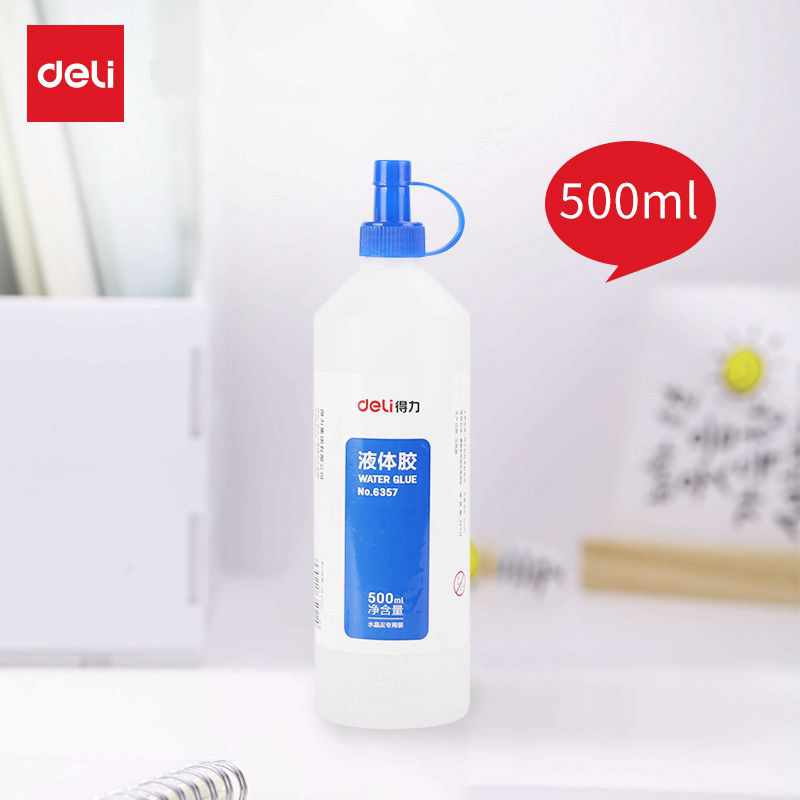 1PCS Deli 6357 water glue 500ml liquid glue office home school water glue 1PCS Deli 6357 water glue 500ml liquid glue office home school water glue