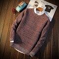 Осень Slim Fit Свитер Для Мужчин S322 Рождественские Свитера Мужчин Пуловеры Мужчины Мужской Свитер Тянуть Homme Марка