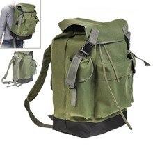 70Л многофункциональная армейская зеленая Большая вместительная Холщовая Сумка для Карповой ловли, рыболовного снаряжения, рюкзак