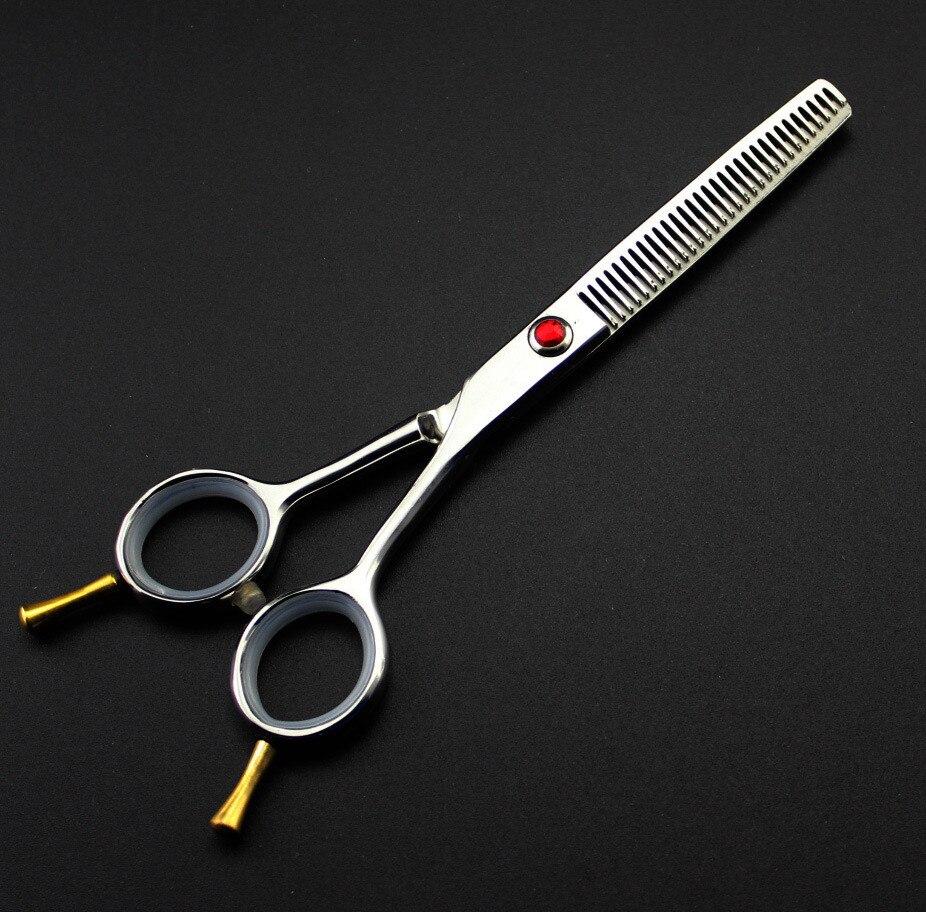 profesjonell 5,5 tommer Japan 440c stål 6cr13 To-tailed thinning - Hårpleie og styling - Bilde 3