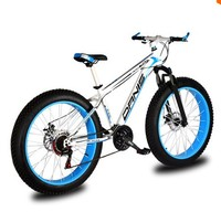 Wz08 Snowmobile Mountain Bike 24 27 Speed Super Wide Tires 4 0 Tb04 Off Road Cushioning