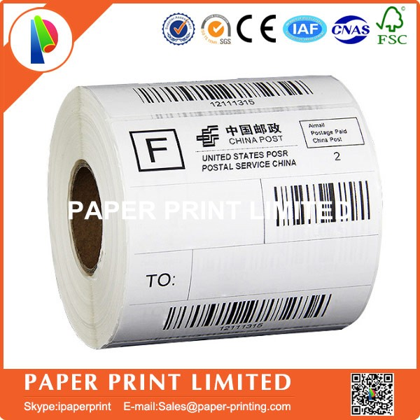 5 Rolls 10*15cm 4x6 Thermal Label 100*150mm 300Pcs/roll Shipping Label Logistics Label Blank Label Thermal Paper Direct Print
