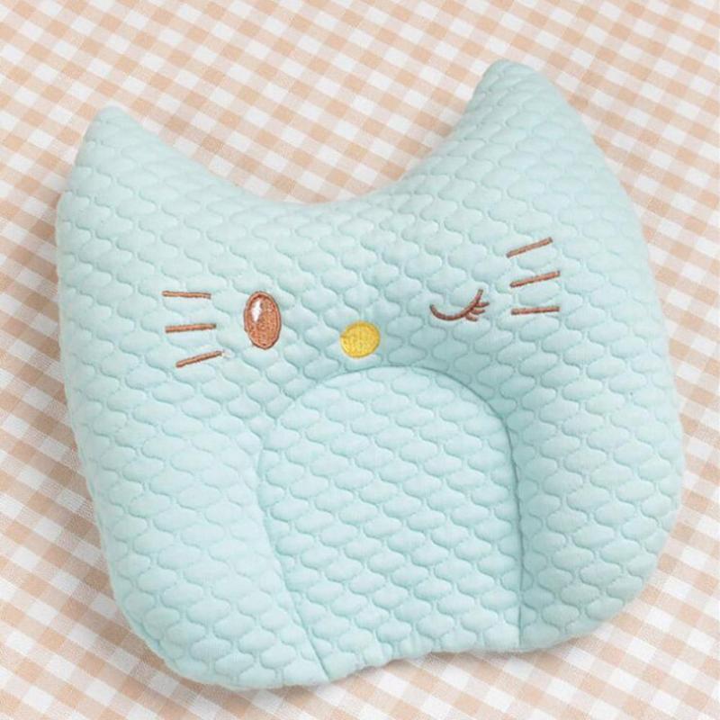 Cotton baby pillow newborn head shaped headrest sleep positioner pillow to prevent flat head nursing pillow Baby bedding D3