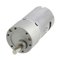 Uxcell Newest 1 Pcs Repairing Part 6mm Shaft Dia DC Electric Geared Moto 12V 1200RPM 2A