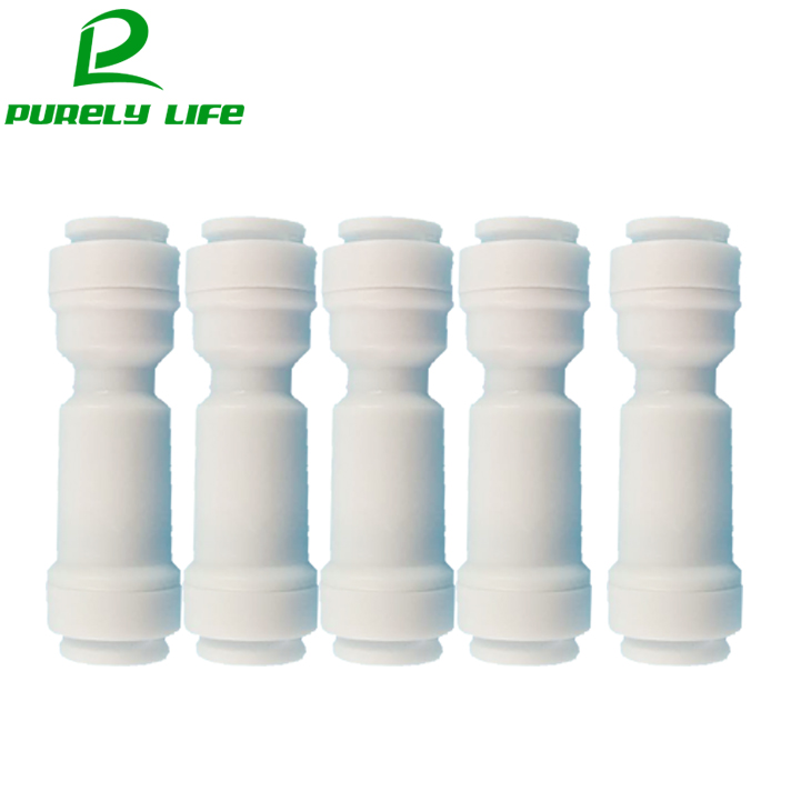 5 pcs One-way valve check valve reflux valve non-return valve to prevent fluid backflow no buckle 1/4 OD direct fast joint pp plastic aquarium check valve non return valve no return valve prevent water back to pump size 3mm 4mm 5mm 6mm 8mm 10mm 12mm