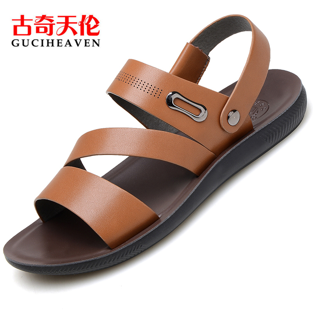 New Arrival Brand Summer Fashion Men Synthetic Leather Sandals Men Slippers Classic Breathable Casual Rome Sandals Shoes Men In Men S Sandals From Shoes