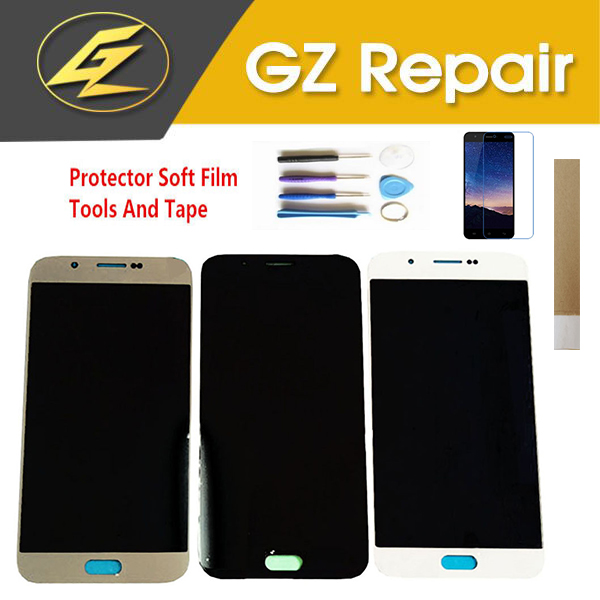 OLED Quality 5.7 Inch For Samsung Galaxy A8 2015 A800 A800F <font><b>A8000</b></font> <font><b>LCD</b></font> Display With Touch Sensor Glass Digitizer With Kits image