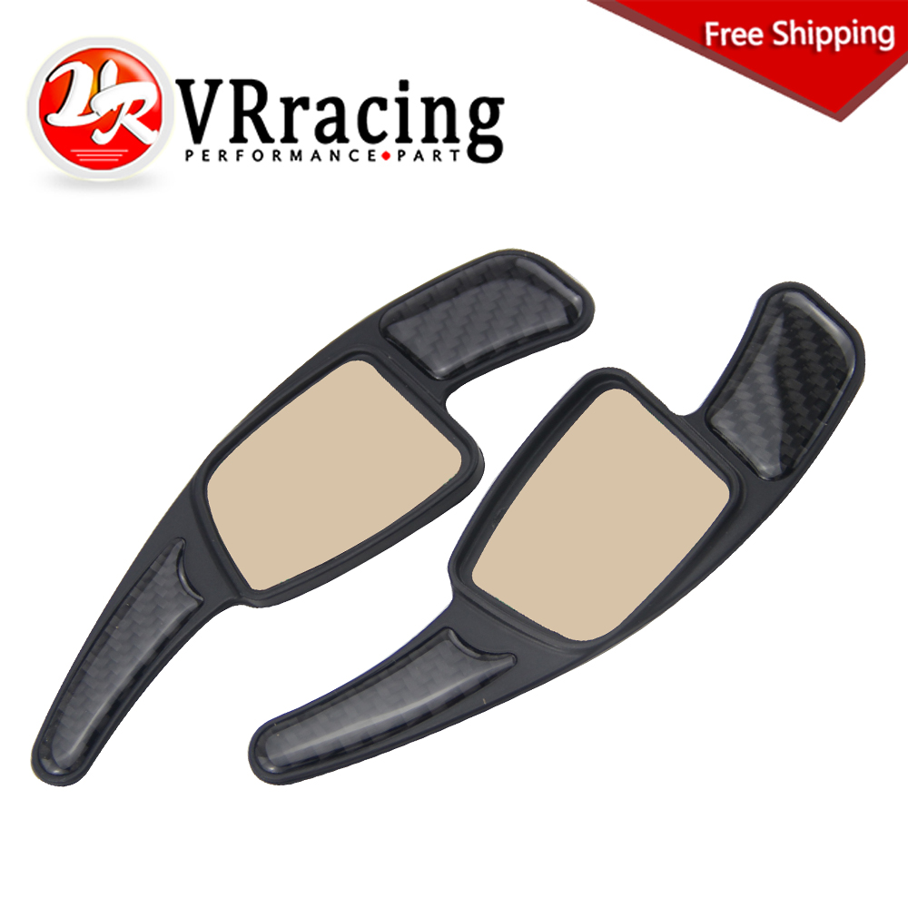 VR RACING - FREE SHIPPING Car Steering Wheel Paddle Shift Paddle Shifters for Audi A4 A5 S3 S5 S6 SQ5 RS3 RS6 RS7 Q7 VR-PSD04 aluminum alloy shift paddles fashion style car steering wheel decoration accessories for e90 e3 e92 m3 e93 m3