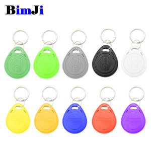 BimJi Blank Key RFID Chip Ring Cards Tags Rewrite 125khz