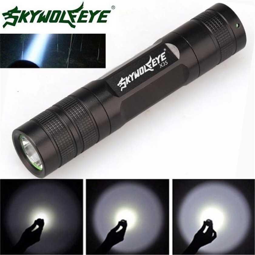 Супер Мини 3500 люмен 3 режима CREE Q5 светодиодный 18650 фонарик фонарь Открытый аварийный светильник 12*2,2*2,7 см; Прямая поставка