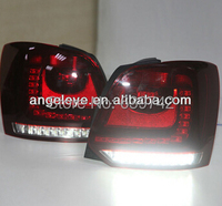 2011 2013 Year New Cross Polo LED Strip Tail Lamp Rear Light Dark Red