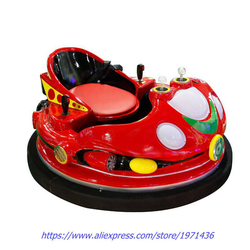 Amusement Device Park Equipment Laser Shooting Combat Remote Control Bumper Collision Cars For Parent Kids