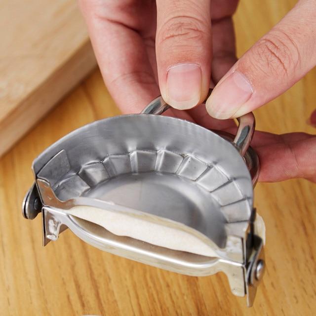 Multifunction Stainless Steel Ravioli Mould Dumplings Cutter Dumpling Maker Form Wrapper Presser Molds Cooking Pastry Cutter 3