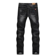 Men's Jeans 2018  Mens Black Jeans Slim Fit Stretch Denim Casual Quality Pants Business Trousers for Man Boys Jean Homme size 38