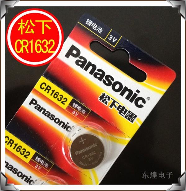 10 шт./лот розницу новые долгое cr1632 часы автомобиль дистанционного кнопка круглая литиевая 3 в батареи 1632 япония марка 100% оригинал