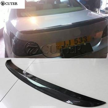 E60 5 series M5 style Carbon fiber Car Rear Wings Trunk Lip Spoiler For BMW E60 520i 525i 530i car body kit 05-09