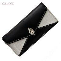 Fashion Women Wallets Drawstring Nubuck Leather Zipper Wallet Women S Long Design Purse Two Fold More
