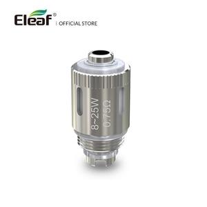Image 2 - Original Eleaf GS Air Coil Head GS Air M Pure Cotton 0.75ohm/1.2ohm For GS Air Atomizer Replacement Coil Electronic Cigarette