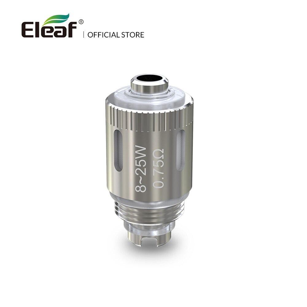 Originale Eleaf GS Air Coil Puro Cotone 0.75ohm/1.2ohm/1.5ohm Per GS Atomizzatore Aria di Ricambio Bobina Sigaretta Elettronica