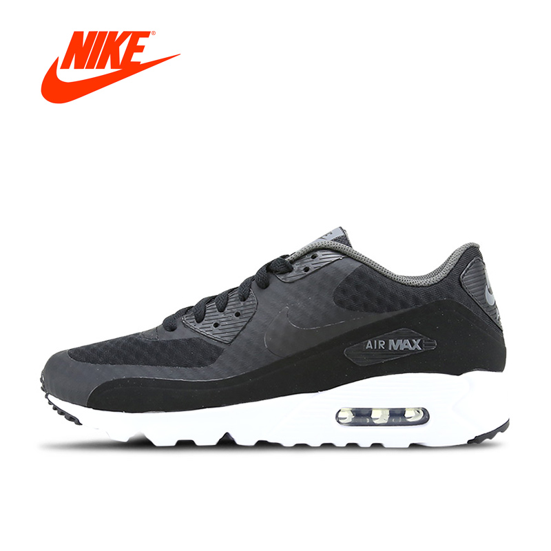 Authentic NIKE AIR MAX 90 ULTRA ESSENTIAL Mens Breathable Running Shoes Sports New Arrival Sneakers for Men ...