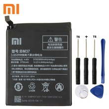 Xiao Mi Xiaomi BM37 Phone Battery For mi 5S plus 5Splus 3800mAh Original Replacement + Tool