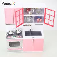 Portable Kitchen Toy Pink Gifts Home Plastic Children play house kitchen washbasin furniture Cooking bench for Boy girl baby Toy