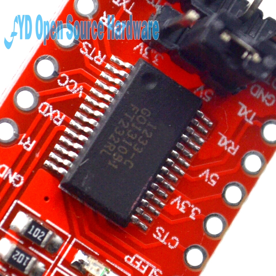 FT232RL FT232 FTDI USB To TTL 3.3V 5.5V Serial Adapter Module Download Cable For Mini Port
