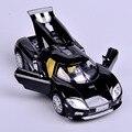 Черный Мини Масштабе 1:32 Koenigsegg Автомобиль Электронный Вытяните Назад Ca rToys Сплава Литья Под Давлением Модели Автомобиля С Свет и Звук Детские Игрушки подарок