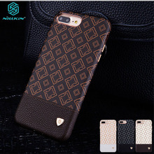 For iphone 7 Case 7+ Plus Cover Nillkin Ogar Case Elegant Style PU Leather Luxury Classic Phone Back Cover for iphone 7 Plus