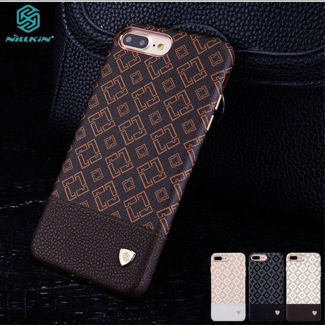 ل iphone 7 حالة Plus 7 + زائد غطاء Nillkin Ogar حالة أنيقة نمط بو الجلود الفاخرة الكلاسيكية الهاتف الغطاء الخلفي ل iphone 7 زائد