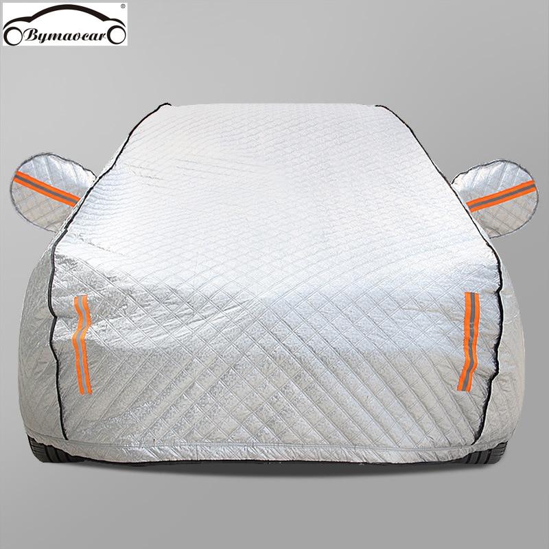Car cover plus cotton / thick insulation / sunscreen / sunshade / rain / four seasons car cover fit for Audi car