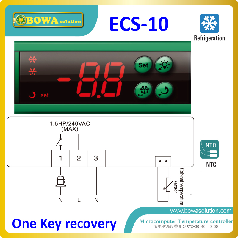 √Una recuperación de claves controlador de temperatura para bebidas ...