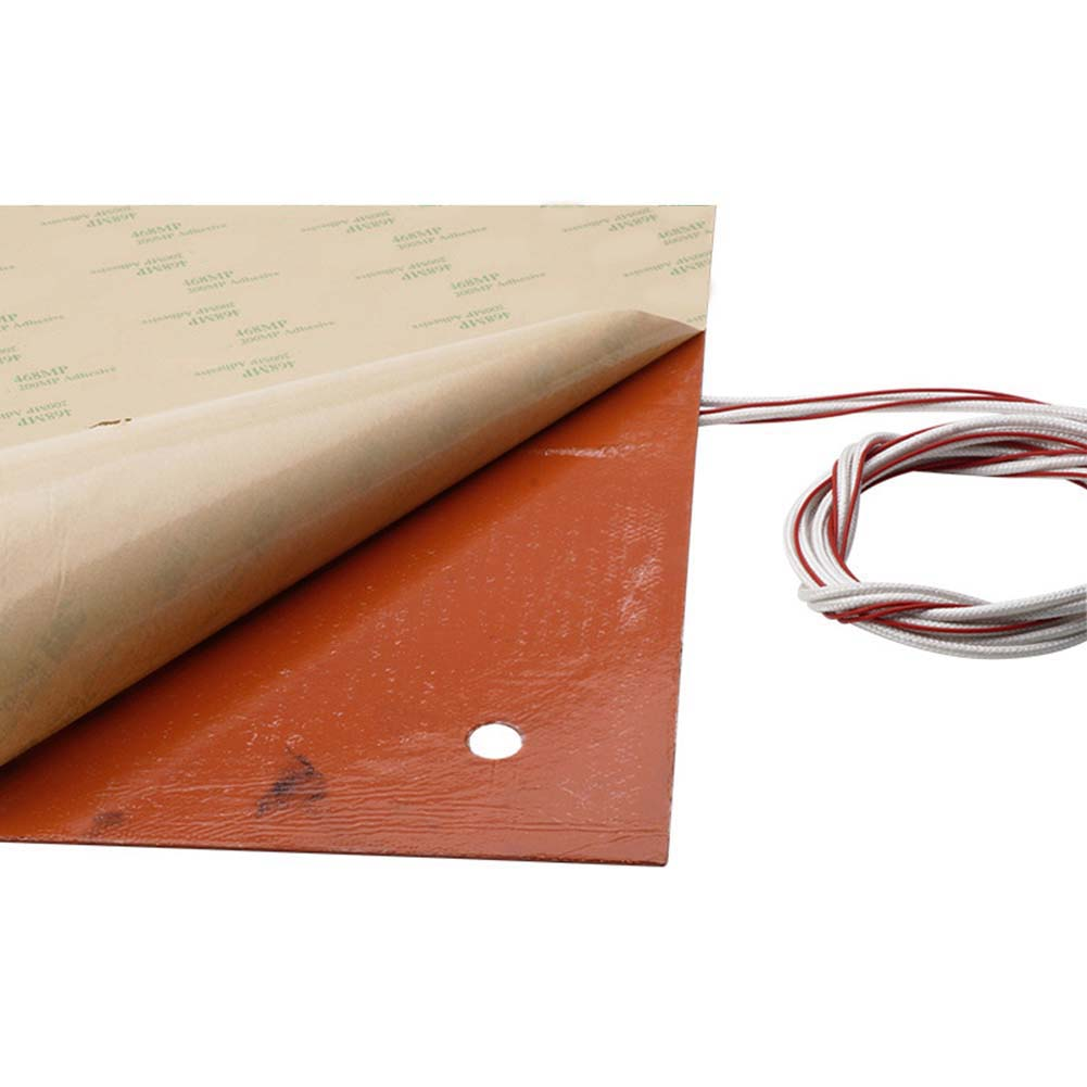 Silicone Heater 310mm x 310mm 750W Creality CR 10 3D Printer Parts Heating Pad XR649