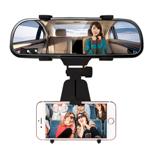 Car Rearview Mirror Mount Holder Stand 360 Degree Universal