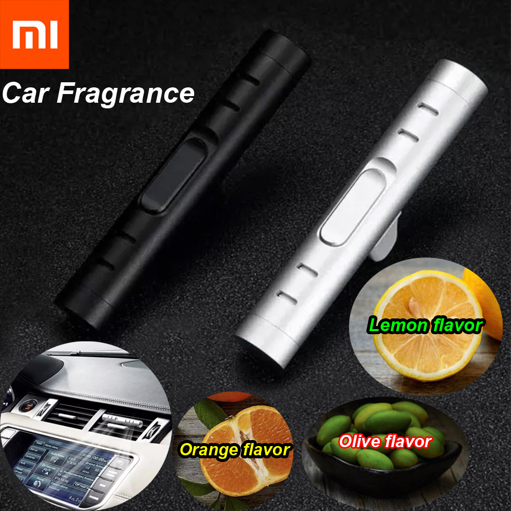 Xiaomi Mijia Guildford Car Holder Incense Lemon/Orange/Olive Aromatic Wardrobe Aromatherapy For Car Air Purifier