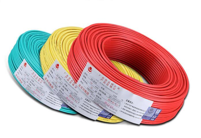 10m <font><b>Wire</b></font> flame retardant Copper <font><b>core</b></font> single <font><b>7</b></font> <font><b>core</b></font> 1.5mm2 soft line flame-retardant Home office renovation Hotel engineering image