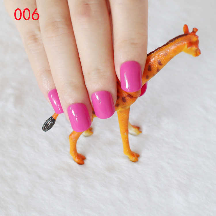 Detail Feedback Questions about Fake Nail Red Pink Short Nails Tips ...