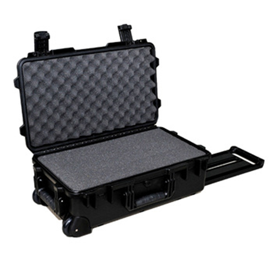 Hot sale!M2500 Shanghai Tricases factory new style waterproof PP hard tool cases with pre-cut cube foam roland m cube gxr