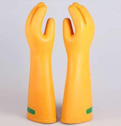 Изолированные рабочие перчатки 35 кв изоляционные перчатки электрическая изоляция перчатки такелажник