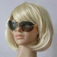Woman Straight Short Synthetic Hair Wigs