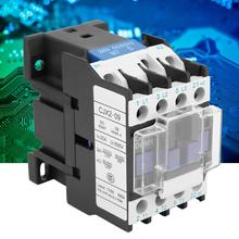 CJX2-0901 Electric Contactor Rail Mount AC Contactor Industrial Electric AC Contactor 220V 9A цена