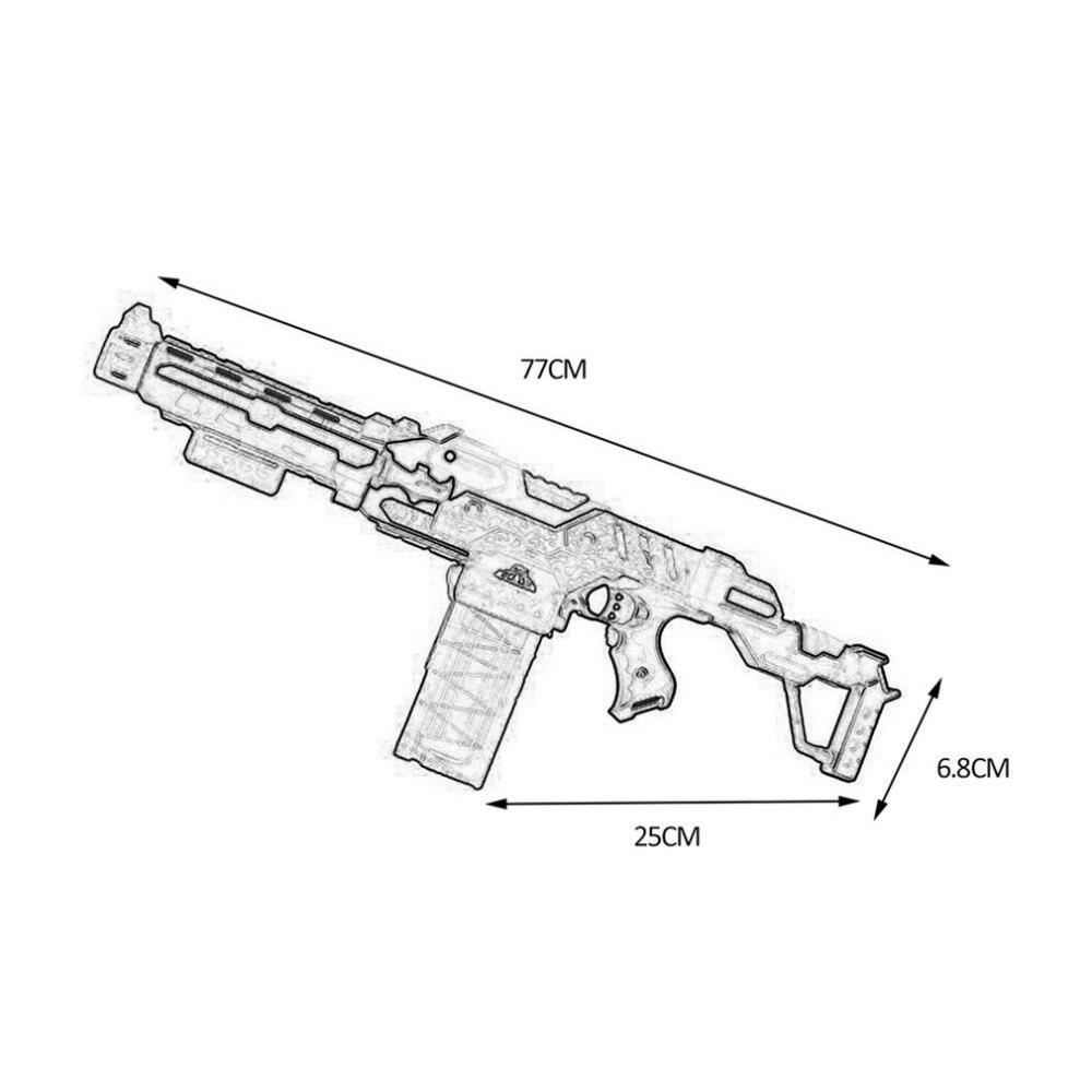 Armas de Brinquedo ocday armas de bala mole Target Size : Send by Random, 18cm/15cm