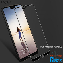 For Glass Huawei P20 Lite Screen Protector Tempered Glass For Huawei P20 Lite Glass Nova 3e Full Cover Protective Phone Film for huawei p20 lite usb plug charger board microphone module cable connector for huawei nova 3e digitizer phone parts repair kit